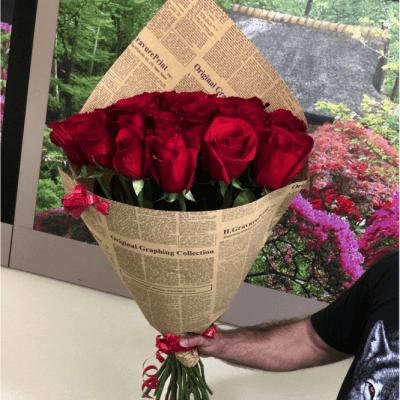 Розы из Эквадора и Голландии